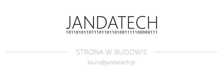 JANDATECH Odzyskiwanie danych